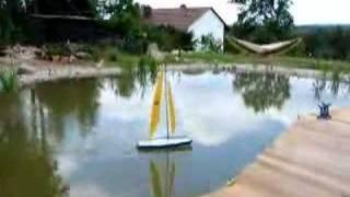 preview picture of video 'Saphir auf dem Teich'