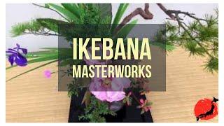Ikebana Masterworks On Display In Kyoto, Japan 2018