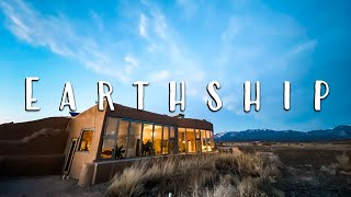 OFF GRID LIVING: Sustainable Earthship Tour in Taos, NM