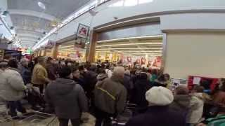 preview picture of video 'Otwarcie Auchan - M1 Zabrze'