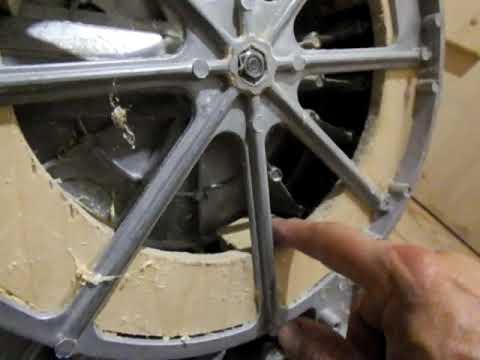 Торцовочная пила - ремонт поворотного стола
