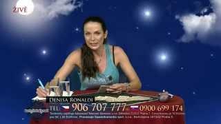 Karty, hvězdy radí 13.8.2015 - Denisa Ronaldi