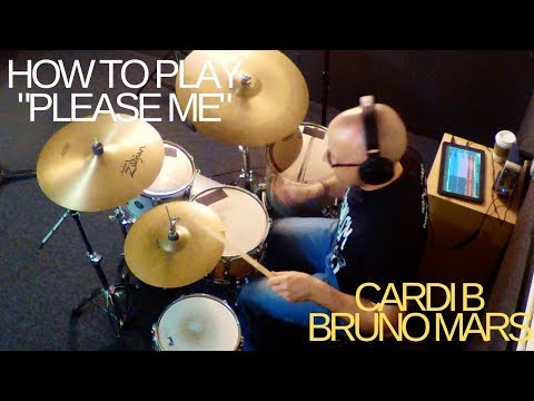 """Watch this video and learn how to play """"Please Me"""" by Cardi B. and Bruno Mars. I go deep into the beat from this song."""