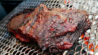SMOKING BRISKET - Gravity Smoker - ProQ GFC 2150