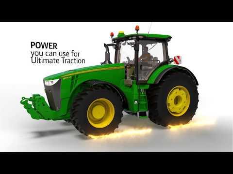 John Deere Traktor 8345R 345hk - film på YouTube