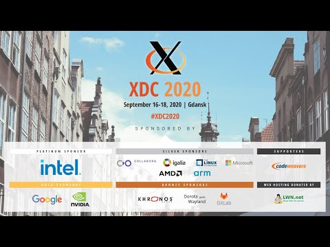 XDC 2020 conference is today - Vulkan Ray Tracing and Vulkan for Raspberry Pi 4