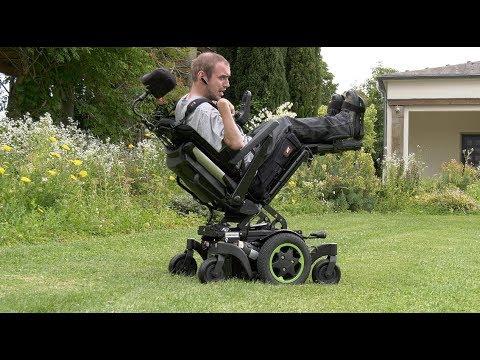 Neu Rollstuhl Mittelantrieb Q500 Elektrorollstuhl von Sopur