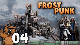 Robô de 15 metros! | Frostpunk #04 - Gameplay Português PT-BR