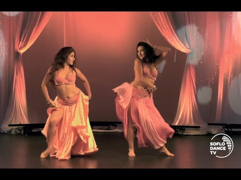 Belly Dance by Olga & Steph Bellypassion / Badna Nwalee El Jaw /‏نانسي عجرم - بدنا نولع الجو