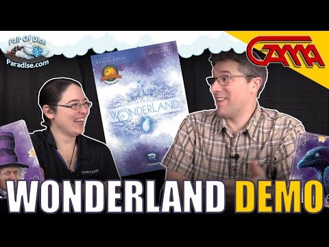 Wonderland Card Game - Overview & Demo