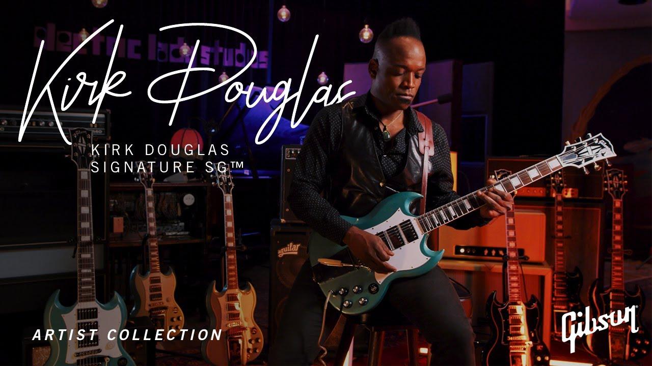NAMM 2021: Kirk Douglas Signature Gibson SG