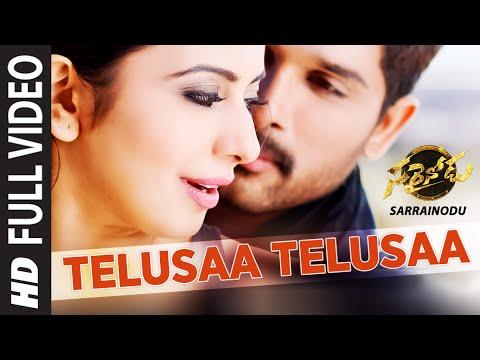 Download TELUSAA TELUSAA Full Video Song ||