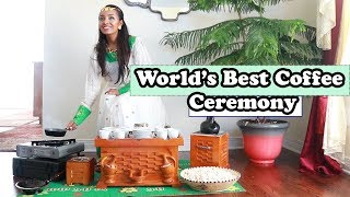 World's Best Coffee Ceremony : Ethiopian Coffee : Just an overview : Ethiopian Beauty