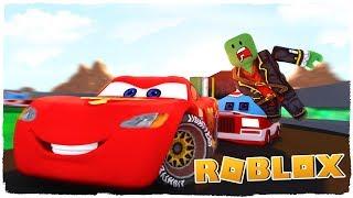 👉 ¡SALVANDO A RAYO MCQUEEN! - CARS 3 EN ROBLOX