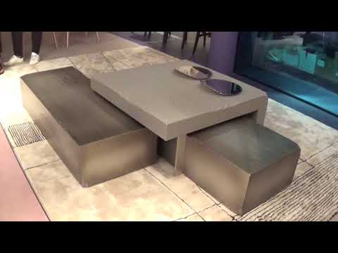 Tappeto Klee e Slide coffee table