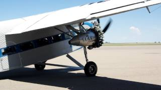 Ford Trimotor at Natrona County International Airport