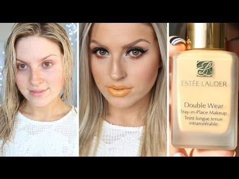First Impression Review ♡ Estee Lauder Double Wear Foundation