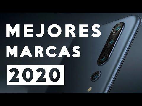 MEJORES MARCAS DE SMARTPHONES 2020 ¿CUALES SON LAS MEJORES CALIDAD PRECIO?