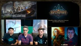 Pillars of Eternity II: Deadfire - Twitch Q&A #6 with Josh Sawyer and Dimitri Berman