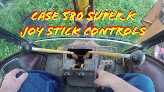 Case 580 Super K Controls