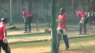 Rajasthan Royals - IPL Season 5 practice session