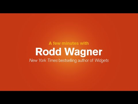"A Few Minutes with ""Widgets"" Author Rodd Wagner"