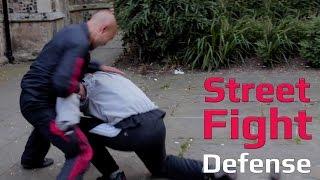 Street Fight Defense   Grabbling Back Break