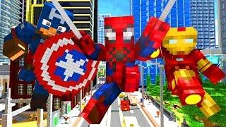Avengers Life   Craftronix Minecraft Animation
