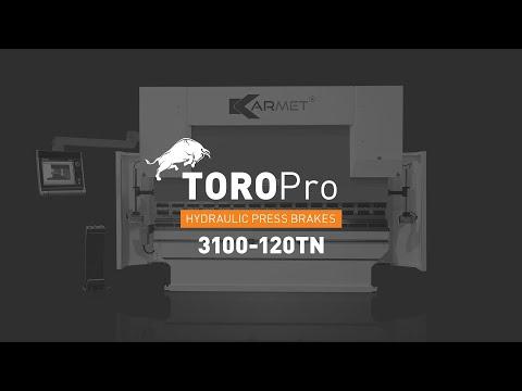 Karmet Hydraulic Press Brake – Toro Pro -3100-120TN