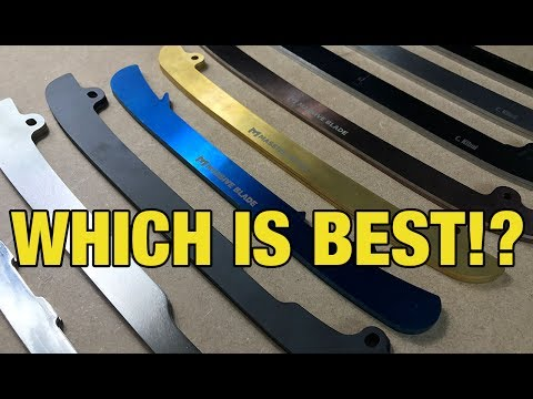 Best Ice Hockey Skate Runners – Step Steel, Massive Blade, BladeTech review