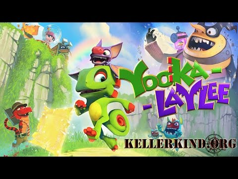Yooka Laylee – Trailer & Ankündigung für Let's Play ★ We Teaser Yooka Laylee [HD|60FPS]