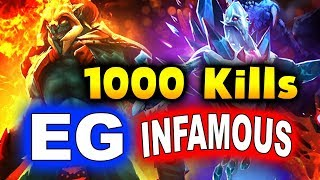 EG vs INFAMOUS - SumaiL FIRST 1000 TI KILLS!!! - TI9 INTERNATIONAL 2019 DOTA 2