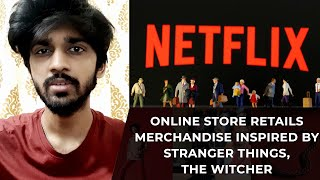 Online Store Retails Merchandise Inspired by STRANGER THINGS, THE WITCHER   TECHBYTES