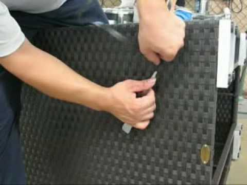 rattan-profi.de - Anleitung Reparatur für Polyrattan Möbel