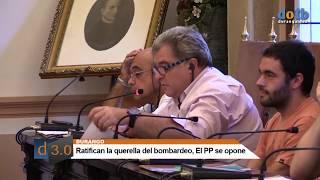 dotb RATIFICACIÓN QUERELLA BOMBARDEO