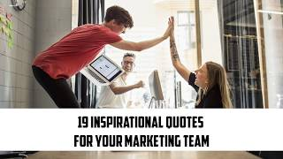 19 Inspirational Quotes For Your Marketing Team | Sameer Gudhate