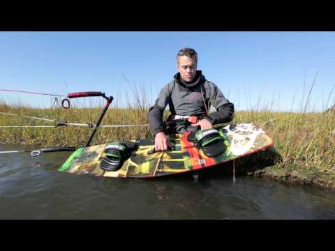2014 Slingshot Vision Kiteboard Review