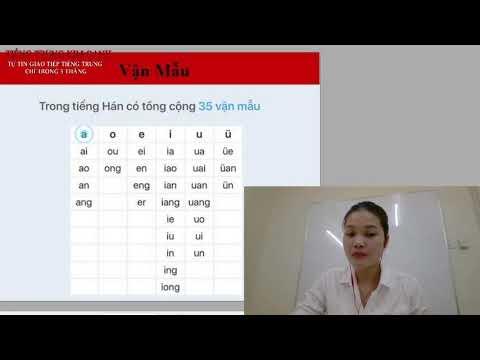 Vận mẫu tiếng Trung