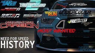 History of:Need For Speed™ -Trailers (1994-2016)