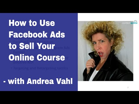 Sell Your Online Course with Facebook Ads - Guest Expert - YouTube