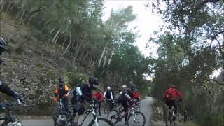 preview picture of video 'Ruta MTB Esporles banyalbufar  08 03 2015'