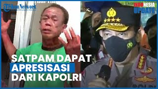 Satpam Gereja Katedral yang Adang 2 Pelaku Bom Bunuh Diri di Makassar Dapat Apresiasi dari Kapolri