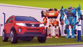 Тоботы новые серии - 3 Серия 3 Сезон - мультики про роботов трансформеров [HD]