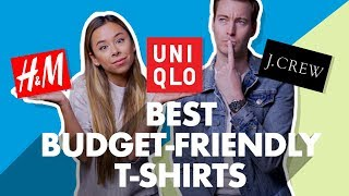 Best Budget-Friendly Mens T-Shirts For 2019
