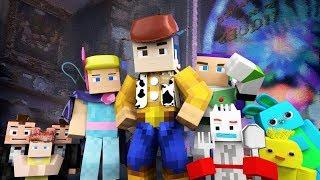 Toy Story 4 Trailer Minecraft Animation