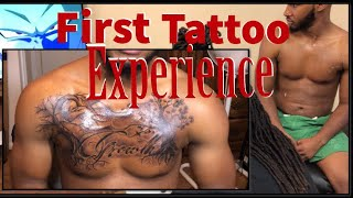 My 1st Chest Tattoo Experience 😍 (Painful?🤔) | Chase Way