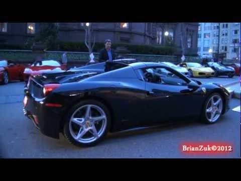 Black Ferrari 458 Spider