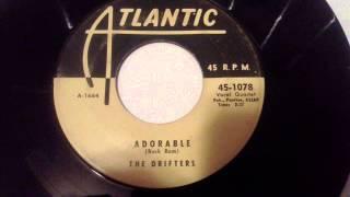 DRIFTERS - ADORABLE - ATLANTIC 1078
