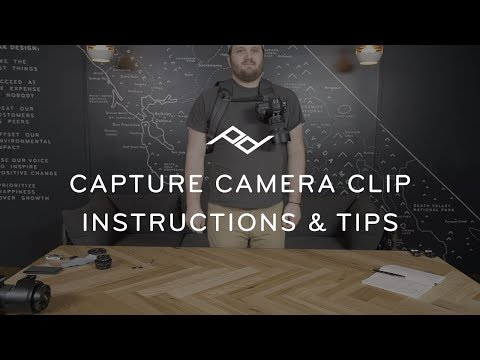 Peak Design Capture Clip&Plateau (Sangle d'épaule)