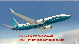 Hire King Air Ambulance Services from Allahabad and Lucknow